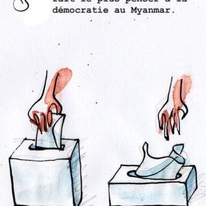 [ Illus actu ] La situation en Birmyanmar