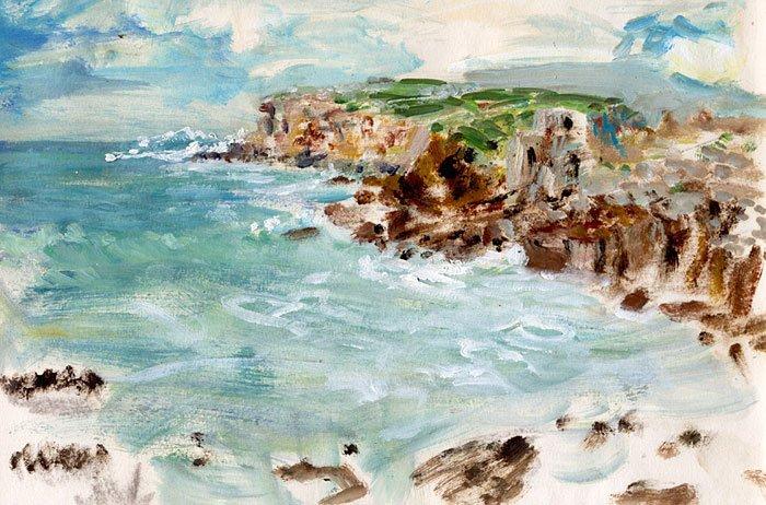 Landscape - étude 1