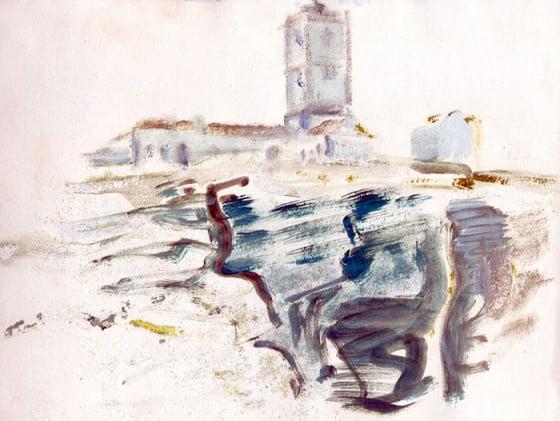 Landscape - étude 2