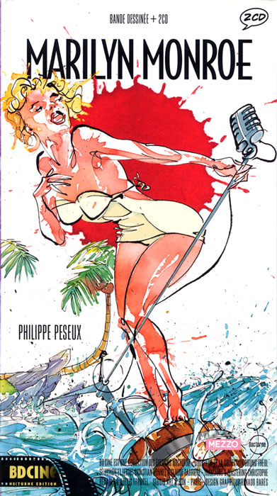 couverture BD Marilyn Monroe