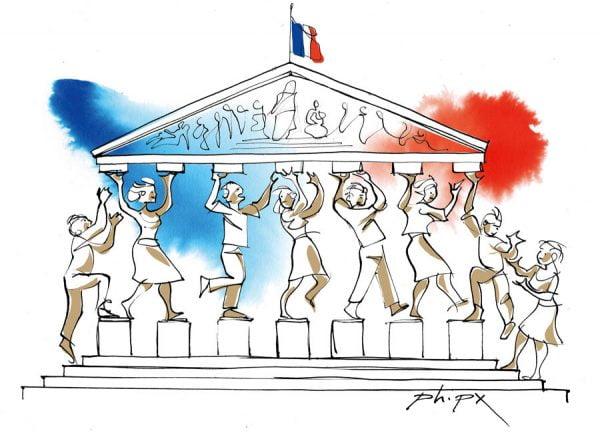 Read more about the article [ Illus actu ] Quand le roi réforme, la réforme est pour le roi