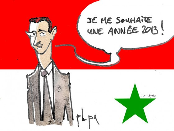 Bachar from Syria 2013