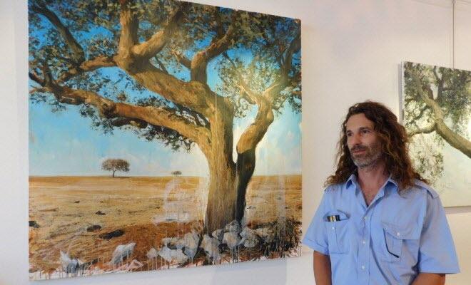 Les Portraits d'arbres de Philippe Peseux à la galerie Médicis