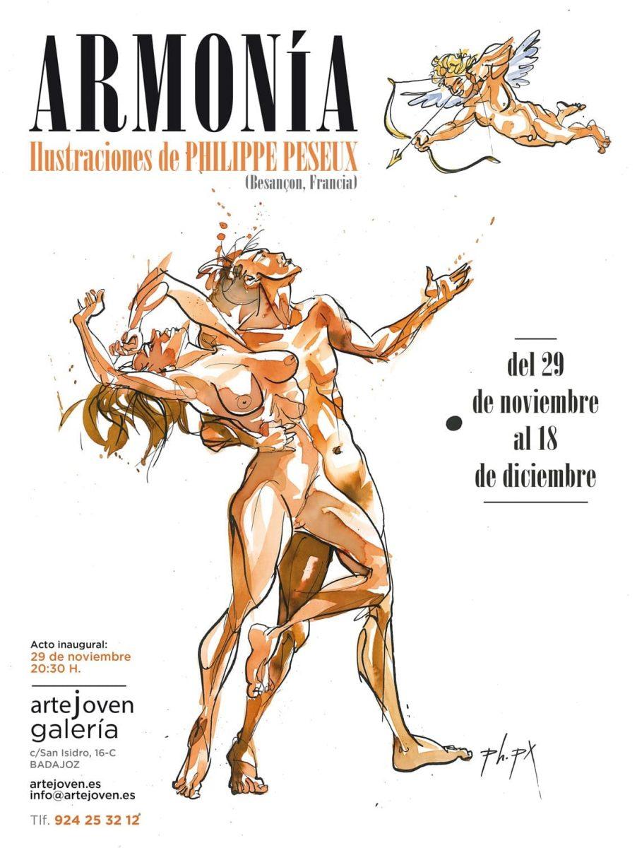 Affiche exposition Harmonie