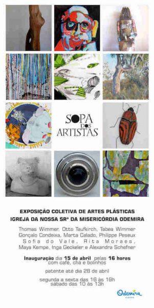 Read more about the article Exposition Collective Sopa Dos Artistas 2018