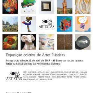 Exposition collective des arts plastiques à Odemira