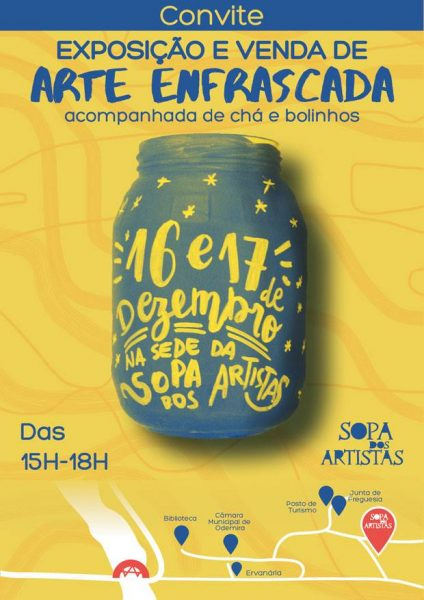 Read more about the article Exposition Sopa dos Artistas