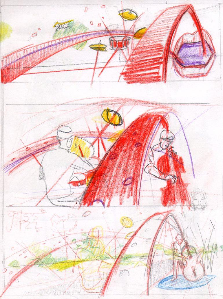 Tass Jazz Affiche sketch