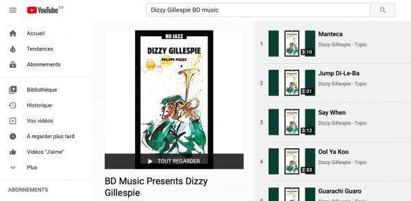 BD Music a sa chaine Youtube